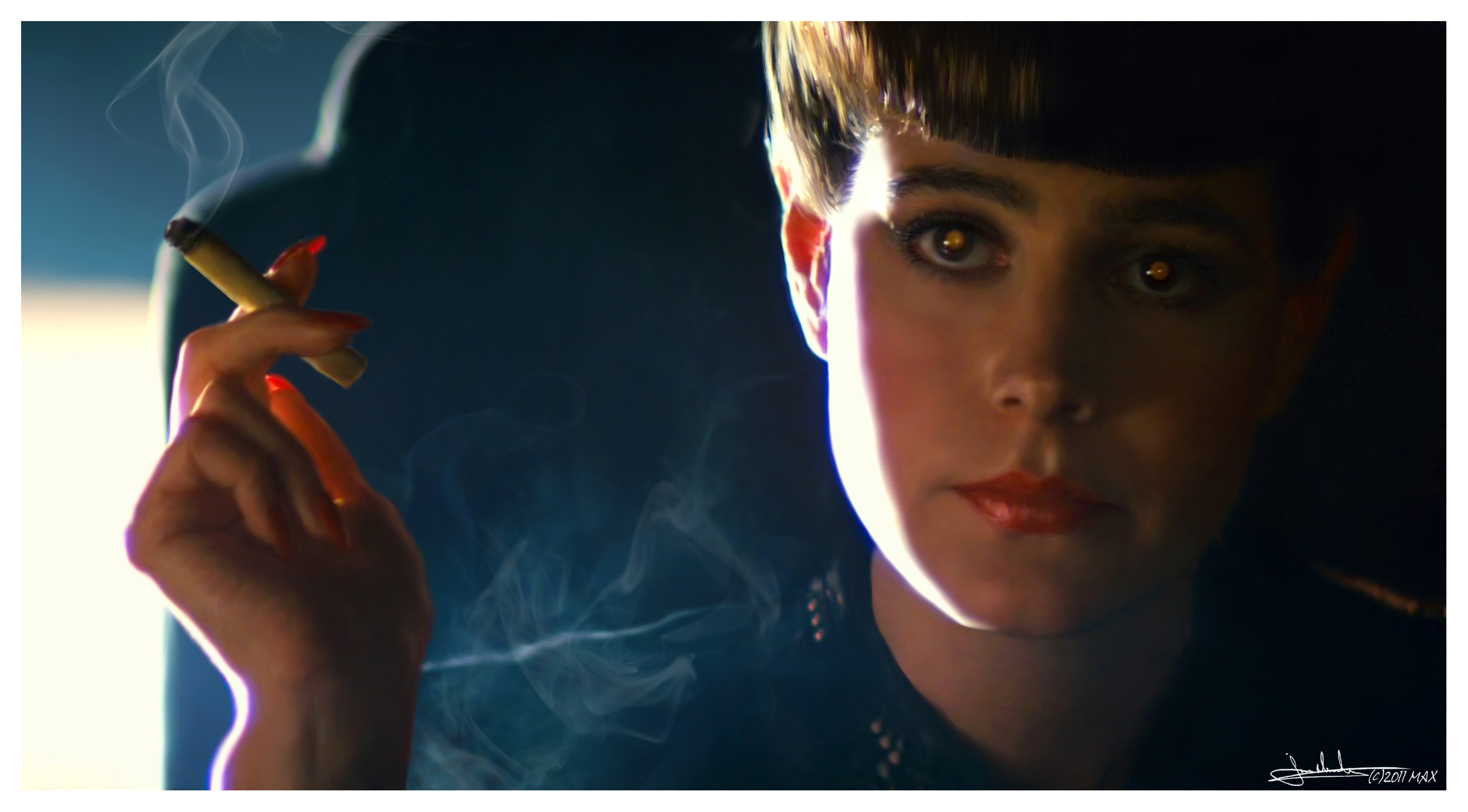 an examination of the replicants in the dystopian world in the film blade runner