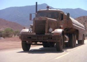 Duel Peterbilt truck