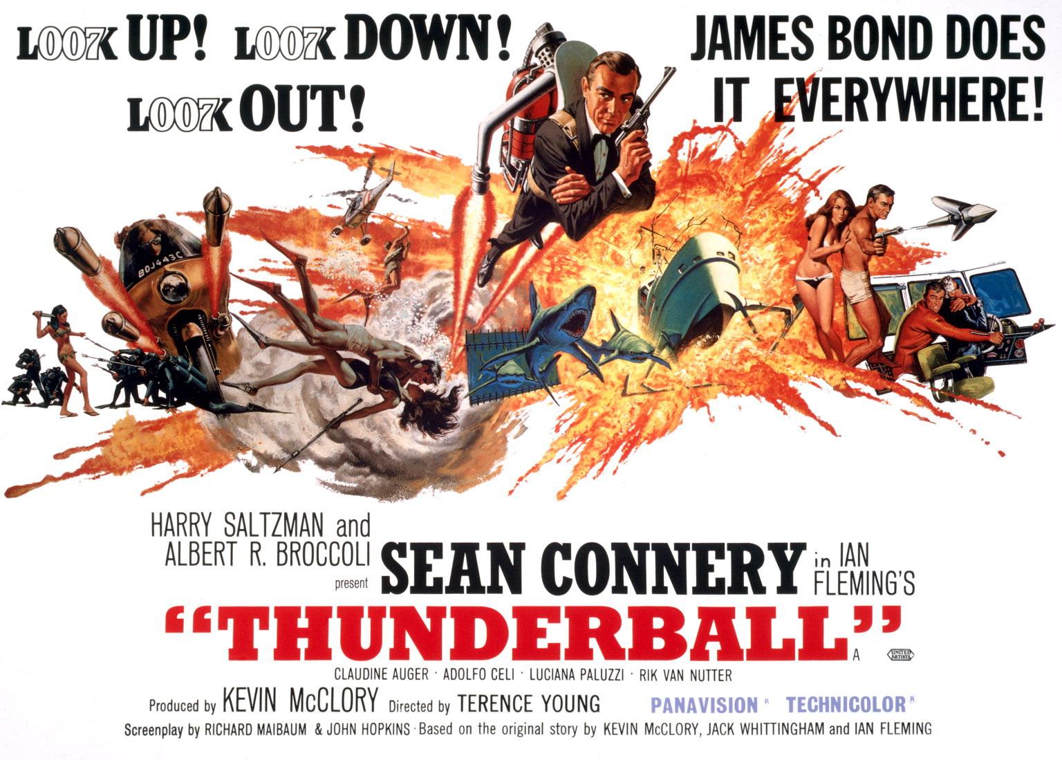 Tom Jones Feuerball Thunderball