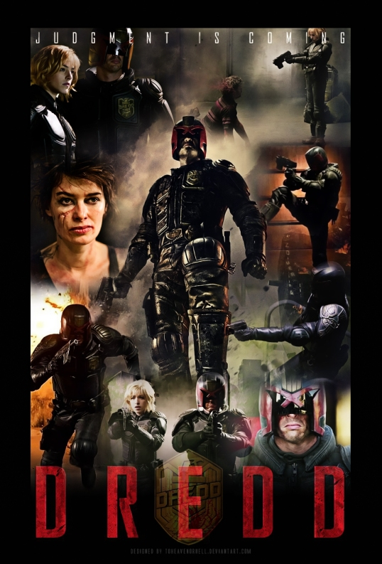 dredd_movie_poster_by_toheavenorhell-d59xrkz