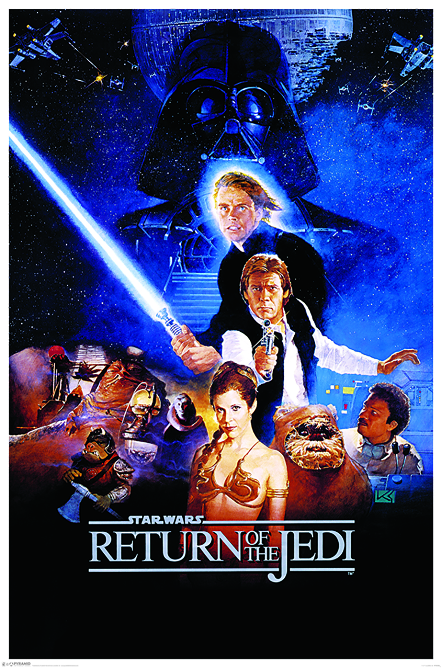 PP33339-Star-Wars-Return-Of-The-Jedi-One-Sheet