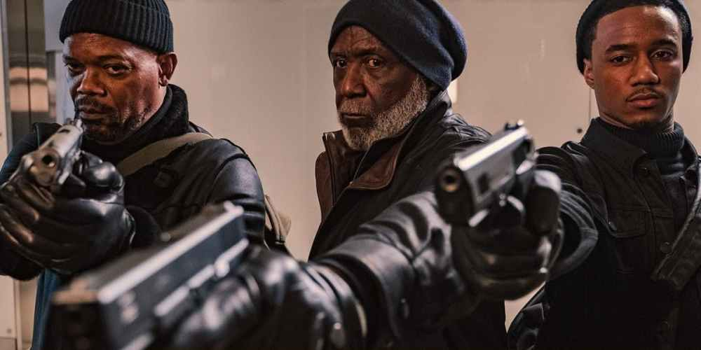 Samuel-L-Jackson-Richard-Roundtree-and-Jessie-Usher-in-Shaft-2019