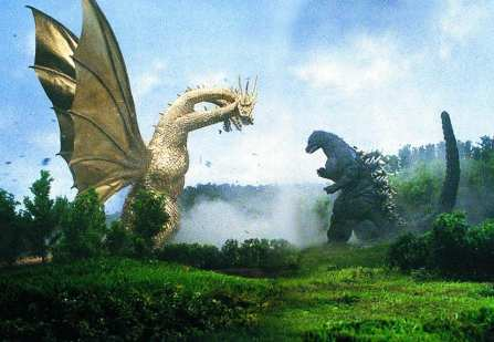 Godzilla Vs. King Ghidorah: A Mark Bousquet Review – The Ferguson Theater